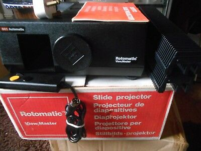 Rotomatic View-Master 501 Automatic Slide Projector - Full Working Order