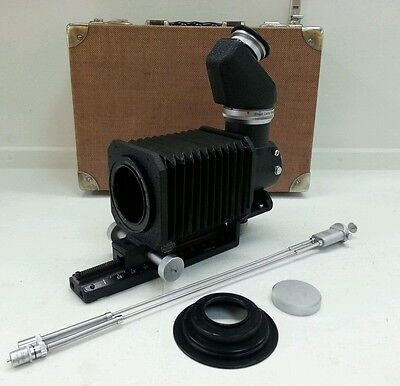 Leica Visoflex I with 45 Degree, Bellows, Double Cable Release, Adaptor and Case