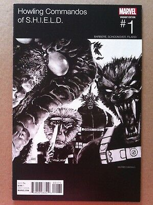 Howling Commandos Of Shield #1 Wilfed Santiago Hip-Hop Variant Nm 1St Printing