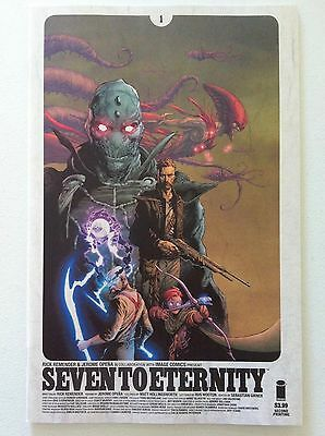 Seven To Eternity #1 Second Printing Rick Remender Jerome Opeña Nm Image 2Nd