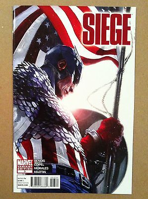 Siege (2010) #3 Gabriele Dell'otto 1:25 Incentive Variant Cover 1St Printing Nm-