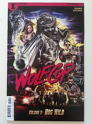 "Wolfcop #1 Dynamite 2016 Movie Comic ""hog Wild"" Nm Near Mint 1St First Printing"