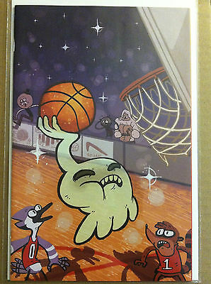 Regular Show #3 Limited Edition Variant Cover 'c' Nm- 1St Print Kaboom Studios