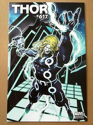 "Thor #617 ""tron"" Variant Cover 1:15 Brandon Peterson Vf 1St Printing 2011 Marvel"