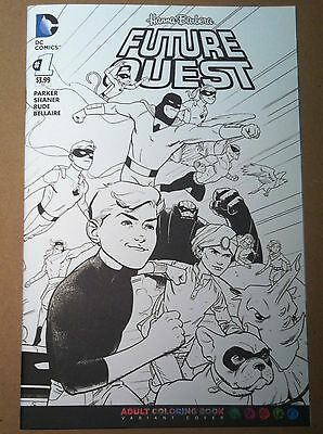 Future Quest #1 Evan Shaner Coloring Book Variant Cover 1St Printing Nm Jonny