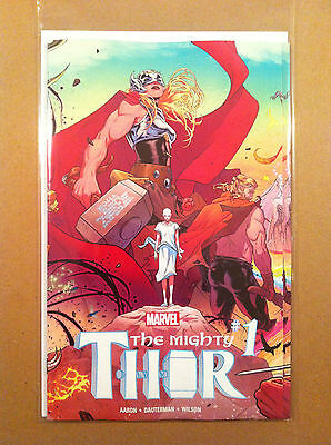 Mighty Thor (2015) #1 Jason Aaron Russell Dauterman Gatefold Cover Nm 1St Print