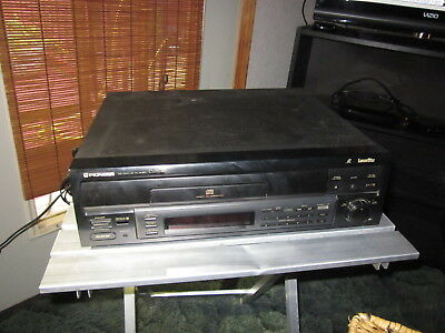 Nice Pioneer CLD-S201 LaserDisc Player w/ Direct CD Tray & Shuttle Dial