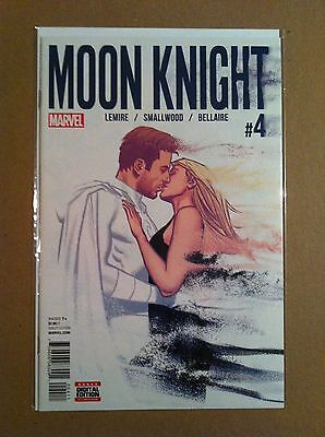 Moon Knight V.5 #4 Jeff Lemire Greg Smallwood Nm 1St Printing Marvel 2016