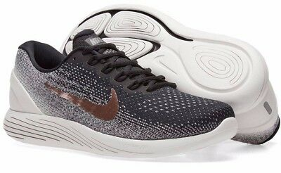2ac5d0c11383 New NIKE Lunarglide 9 X-plore Mens Running Shoes white black bronze all  sizes