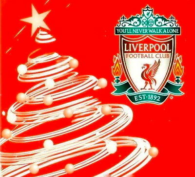 Liverpool F. C. Christmas/Xmas Card  Official Merchandise