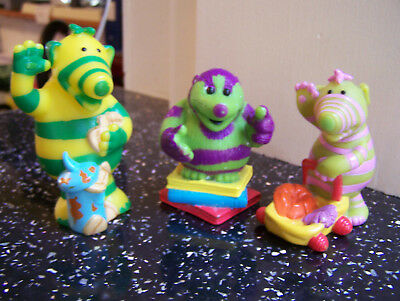 fimbles figures x3 BBC mattel 2003 2003 job lot