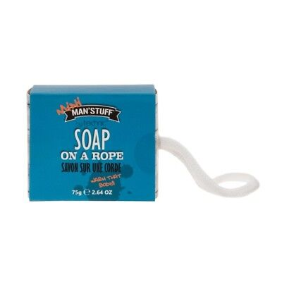 Technic Man'Stuff Soap on a Rope Wash that body 75g UK Free Postage
