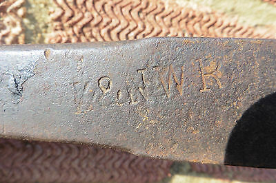 GENUINE L&NWR RAILWAY WORKSHOP SPANNER STAMPED both sides L&NWR