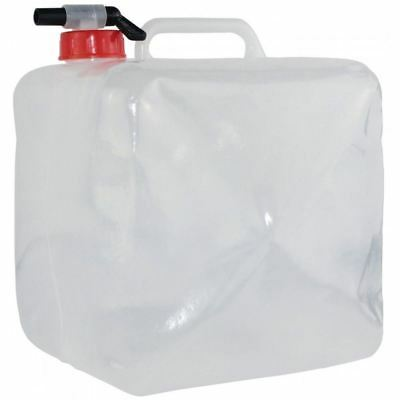Yellowstone Camping Backpacking Caravan Tank Tap Collapsible Water Carrier - 10L