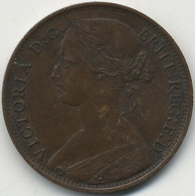 1861 Victoria One Penny***Collectors***High Grade***(2)