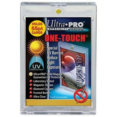 Ultra Pro - One-Touch Speciality Holders - 55PT - Magnetic Resealable Sleeves.