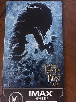 Beauty and the Beast IMAX Limited Edition Collectible Ticket Week 2