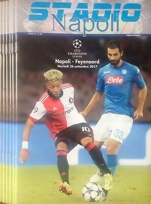 2017 NAPOLI v FEYENOORD CHAMPIONS LEAGUE OFFICIAL PROGRAMME