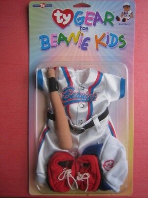 Baseball TY Gear for Beanie Kids New in Package