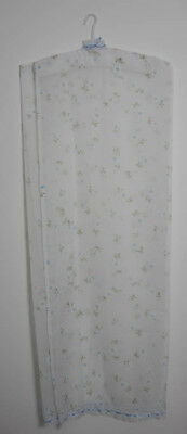 Lovely Vintage Coat Hanger With Sheer Cover (1112)