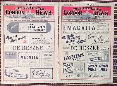 The Illustrated London News April 5th + 12th 1941 5320-21