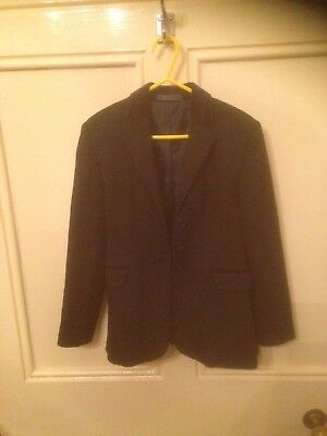 Tagg Black Child's Show Jacket Size 28 aged 6/7/8