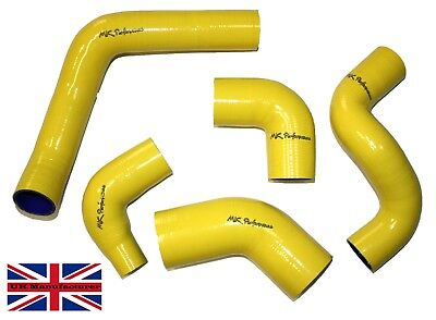 Fits Landrover Freelander Td4 (Without Sensor) Intercooler Hose Kit Yellow