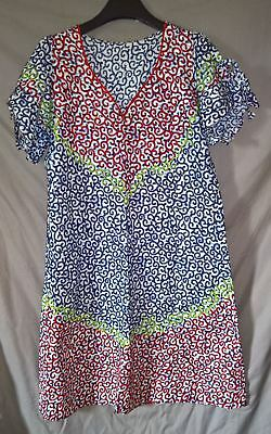Stunning Traditional African Daviva Beaded Dress - size XL