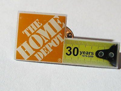 home depot collectibles home depot 30 years 1979-2009 lapel pin
