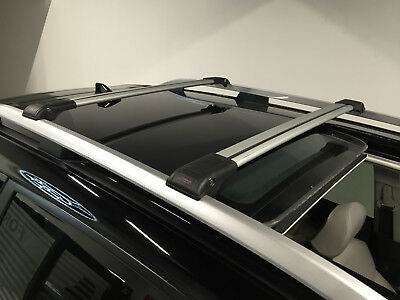 Skoda Yeti Anti Theft Aluminium Cross Bar Rack 75 Kg Loading Capacity Grey