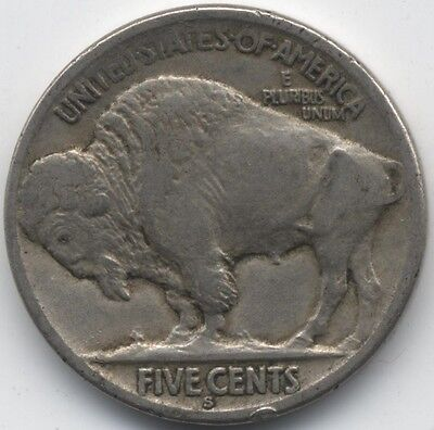 1919 S U.S.A. Buffalo Nickel***Key Date***Collectors***