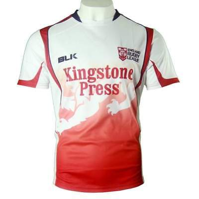 England Rugby League Training Tee Shirt by BLK
