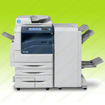 Xerox Workcentre 7970i Color Tabloid Copier Printer Scan Fax Finisher 70PPM 250K
