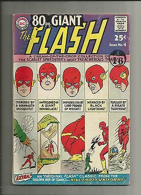 Eighty 80 Page Giant  4 fn/fn- The Flash 1964 Silver Age DC Comics scarce