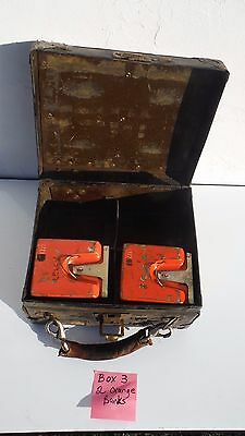 Vintage~Bell System~Telephone~Steampunk~Metal~Industrial Case~2 Money Banks~ (3)