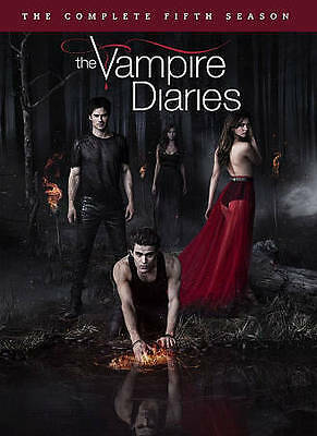 The Vampire Diaries:The Complete Fifth Season (2014, 5-Disc Dvd Set) Brand New!