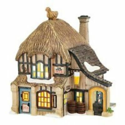 Dept. 56 Dickens Village Straw Duck Pub-Free Shipping