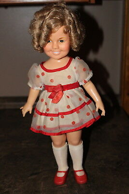 Vintage Shirley Temple Doll in Original Dress 1972 by Ideal Toys Great condition