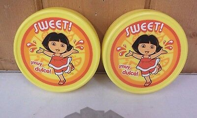 Lunch Box Cooler Dora the Explorer Lunch Ice Packs ~ New