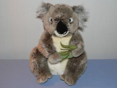 "Koala bear teddy stuffed animal plush eucalyptus leaves Australia FAO 11"" toy"