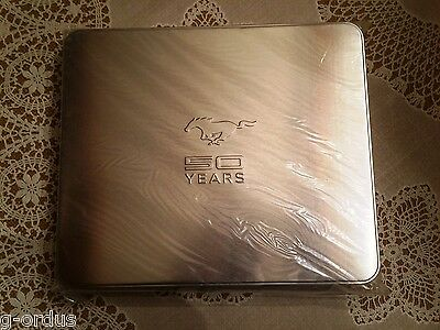 Dealer Exclusive Ford Mustang 50Th Anniversary Collector Card Set In Tin Case!