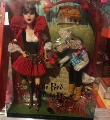 Little Red Riding Hood and the Wolf Giftset 2008 Barbie Doll