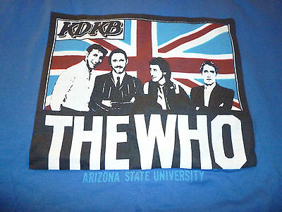 The Who Vintage Shirt Size XL - Mega Rare In Good Condition!!!