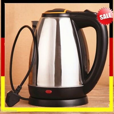 2L 1800W Stainless Steel Anti-dry Protection Electric Auto Cut Off Jug KettleFF