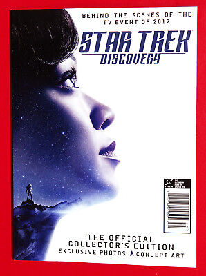 STAR TREK DISCOVERY BOOK - Collector's Edition - NEW 2017 Behind The Scenes