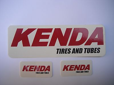 Kenda Tires And Tubes Bicycle Bike Decals Stickers Original Free Shipping!!!