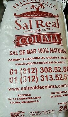 Sal de mar 2 Kilos Sea Salt 100% Natural 4.4 lb