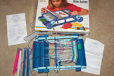 Vintage Smoby Wool Weaving Loom Machine Detailed Pics