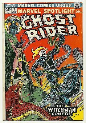 Marvel Spotlight 1972 #8 Fine Ghost Rider