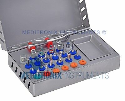 20 Pcs- Dental implant Universal / Basic surgical High Quality Instruments Kit